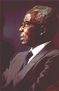 Léopold Sédar Senghor 1st Senegalese president