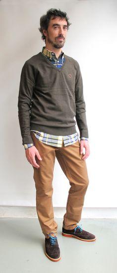 #wilcolook#moda#hombre jersey y camisa #elganso http://www.miinto.es/shops/b-1040-wilco