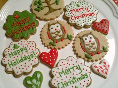 Perfectly decorated sugar cookies! (Wish sugar weren't such a terrible thing!)