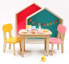 Table et chaises pour Poupée