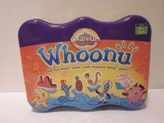 Whoonu Cranium Tin Board Game 2005 Best Toy Award Missing 1 Token #Cranium
