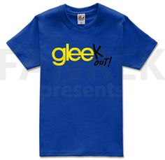 Gleek Out Logo Cool T-Shirts
