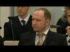Il video del momento in cui Anders Behring Breivik presenta se stesso alla corte norvegese e al mondo. E' la prima volta che i media registrano la voce di Breivik.