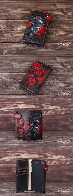 Lucky 7 Portefeuille en Cuir Design Livre-Making Designs Patterns Leathercraft Tandy