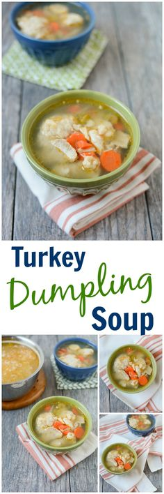 Chunky Turkey and Vegetable Soup | Recipe | Vegetable Soups, Turkey ...