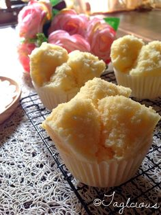 Singapore Home Cooks: Orange Steam Cakes by Grace Tan