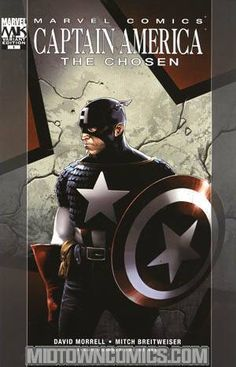 New York Times best-selling novelist and creator of RAMBO, David Morrell, takes on Captain America in CAPTAIN AMERICA: THE CHOSEN — a six-issue Marvel Knights limited series in the tradition of SPIDER-MAN: REIGN! Super-star-to-be Mitch Breitweiser provides the finest art of his career as he chronicles the last days of Captain America...