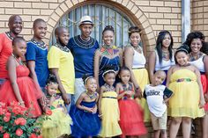 A Vibrant Two day Western and Ndebele Wedding Traditional Wedding Attire, African Traditional Wedding, African Print Fashion, Fashion Prints, Fashion Design, African Attire, African Wear, South African Weddings, Wedding Blog