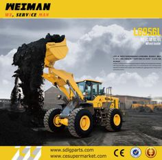 Sdlg 5t Wheel Loader for Sale (LG956L) on Made-in-China.com