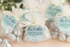 Life Full of Kisses DIY Favors
