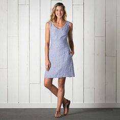 Make a linen dress like this! Horny Toad Linette