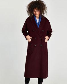 Image 4 of OVERSIZED COAT from Zara