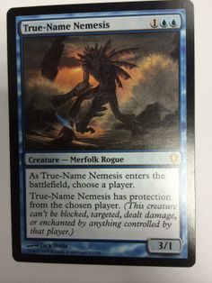 4 X True-Name Nemesis (4 CARDS) PLAY SET Near Mint MTG Magic The Gathering
