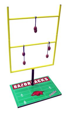 Arkansas Razorbacks ladder golf game