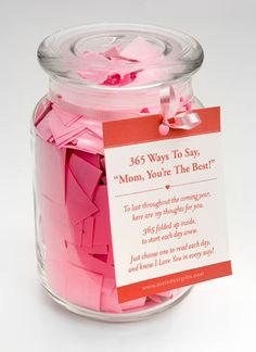 Looking for that perfect Mother's Day gift? How about a gift that will be used everyday for the next year? A gift that will remind your mother of