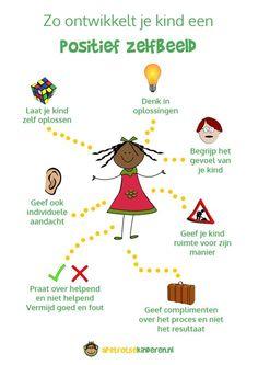 Help jouw kind aan een positief zelfbeeld Parenting Articles, Kids And Parenting, Parenting Hacks, Trauma, Coaching Personal, Leader In Me, Love My Kids, Workshop, My Little Baby