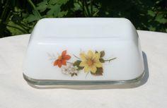 Vintage JAJ Pyrex Butter Dish