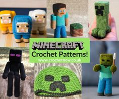 Crochet Toys For Boys free-minecraft-crochet-patterns