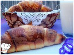 ΤΑ ΠΙΟ ΕΥΚΟΛΑ  ΚΡΟΥΑΣΑΝ ΓΛΥΚΑ Η' ΑΛΜΥΡΑ!!! Greek Sweets, Sweet Recipes, French Toast, Deserts, Breakfast, Food, Pastries, Art, Kitchens