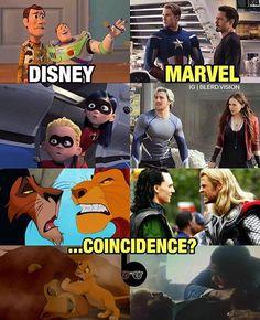 Mas a Marvel é da Disney