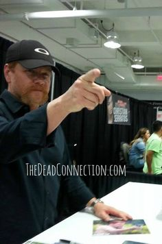 Michael Cudlitz at Walker Stalker Con Atlanta, October 2014