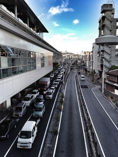 """""""Asato Station of Okinawa Monorail""""...left Okinawa way before this change!"""