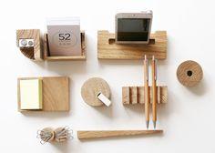 Celebrate Avant-Garde Russian Architecture With This Wood Desk Set Desk Accesories, Office Accessories, Desktop Storage, Desktop Organization, Russian Architecture, Desk Shelves, Wooden Desk, Desk Set, Desktop Accessories