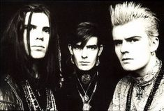 The Cult:one of my favorite bands in the '80s.