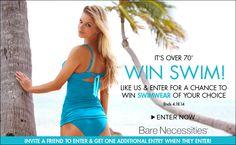 Enter @Bare Necessities Win Swim #sweepstakes!  http://j.mp/Qi0kK1