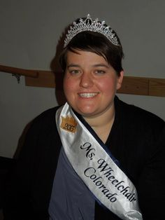 Ms. Wheelchair Colorado 2013 is Mary Colecchi