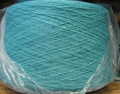 Turquoise 2/17 Acrylic Yarn by stephaniesyarn on Etsy, $20.00