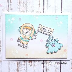 Out of this world appreciation! Gerda Steiner Designs Card by Alexandra