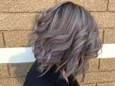 From brassy to muted mauve! Toned with Wella Instamatics at Regency Beauty Institute.