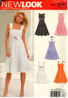 New Look 6589 Sewing Pattern copyright 2006 by EXTREMESEWINGDIVA, $5.00