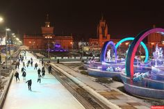 Москва ВДНХ Ice Skaters Moscow