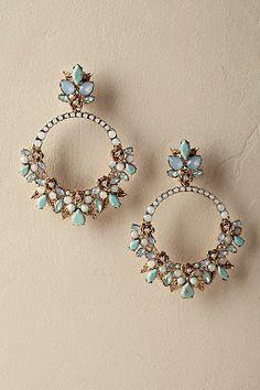 Earrings Studs Posie Circlet Earrings from Indian Jewelry Earrings, Indian Jewelry Sets, Jewelry Design Earrings, Ear Jewelry, Bridal Jewelry, Jewelry Accessories, Body Jewelry, Stud Earrings, India Jewelry