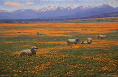 """Antelope Valley Spring"" by Charles Muench; 20"" x 30""; Oil on Linen #CaliforniaArt #EnPleinAir #LandscapeArt"