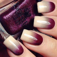 Ombre nails are very trendy now. You can achieve the desired effect by using nail polish of different colors. To help you look glamorous, we have found pictures of beautiful nails. Fancy Nails, Trendy Nails, Fabulous Nails, Gorgeous Nails, Perfect Nails, Hot Nails, Hair And Nails, Diy Ongles, Nail Trends 2018