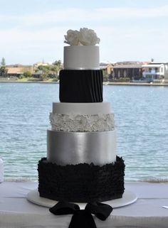 Front of Superhero/Avengers wedding cake