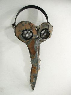 post-apocalyptic plague doctor mask