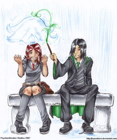 Lilly and Snape