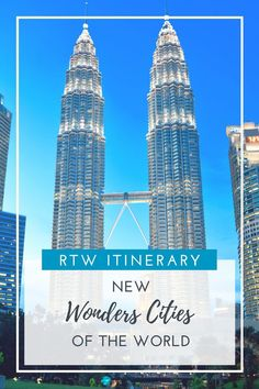 Epic around the world travel itinerary: new wonder cities of the world! Travel Around The World, All Over The World, Around The Worlds, Family Destinations, Amazing Destinations, Exotic Places, Gap Year, Beautiful Places In The World, Best Places To Travel