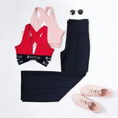 Head into this week with our favourite crops and flares! #mACTIVE #mPWR #beboldbeyou #activewear #athleisure #styleblog #styleinspo #fashion #healthy #fit #fitness #active #lifestyle #dubai #womenswear #instagood #womens #style #workout #melbournefashion #shorts #red #night #out #weekend #sunday #flex #sneakers #sunnies #flares