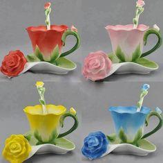 Creative Tea Coffee Cup Set