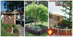 Úžasné nápady, ako si vylepšiť záhradu pomocou dreva - vyvýšené či špirálovité záhony, krásne sedenie v ktorom máte súkromie, lemovanie trávnik či záhradné schodisko. Úžasná inšpirácia do každej záhrady!