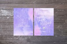 Baby Shower Galaxy Invitation