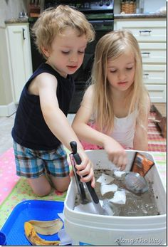 """Can You Undo Water Pollution?"" Experiment and other homeschooling ideas"