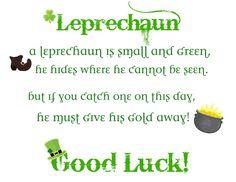 limericks and leprechaun hunt