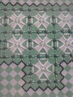 toalha de mesa bordada em tecido xadrez - Pesquisa Google