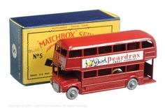 The South West Matchbox Collection | Regular Wheels | Vectis Toy Auctions Matchbox Regular Wheels No.5C London Routemaster Bus